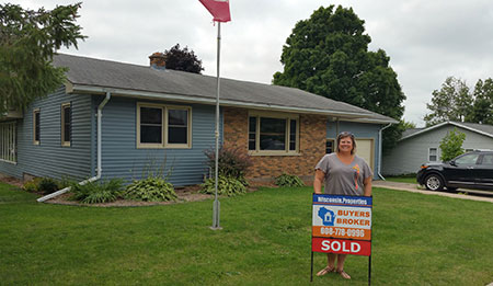 517 High St, Highland Wi 3 Bed 1 Bath Home, Buyers Broker