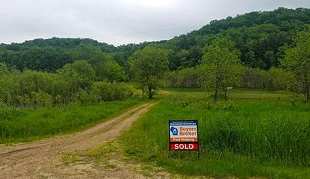 78 Ac County Road II Cazenovia WI 53924 - SOLD, Buyer's Broker