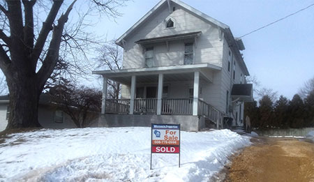 630 S Chestnut St Platteville Wi 53818 - SOLD, Buyer & Seller's Agent