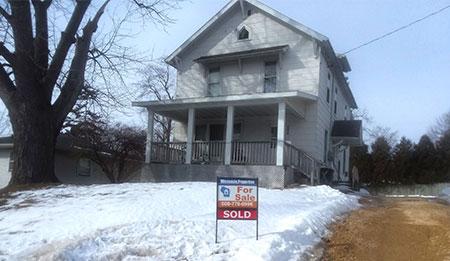 630 S Chestnut St Platteville Wi 53818 - SOLD, Buyer & Seller's Agent
