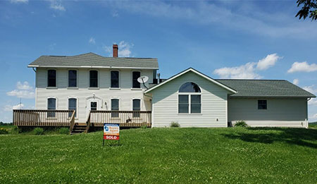 23289 White Oak Rd Shullsburg WI 53586 - SOLD, Buyer's Agent