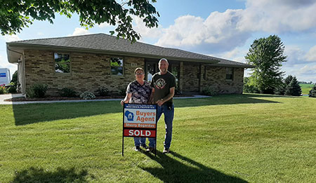 8717 County Rd N South Lancaster Wi 53813 - SOLD,  Buyer's Agent